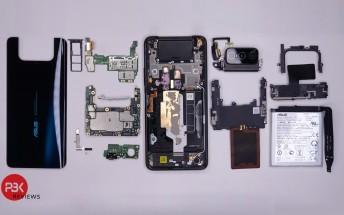 ASUS ZenFone 7 Pro plockas isär i ny video