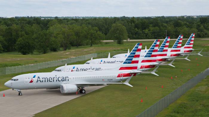 American Airlines planerar att återinföra Boeing 737 Max i trafik i slutet av året