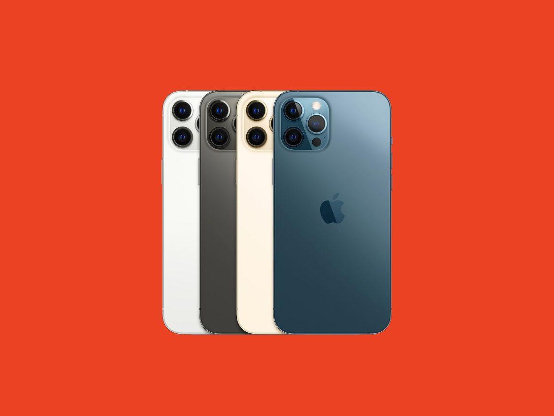 Anis Don Demina kollar in iPhone 12 Pro Max