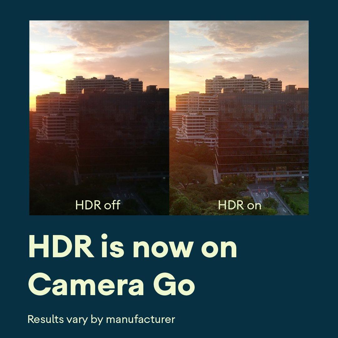 Google Go: Camera får HDR- support