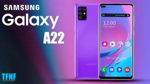 Uppgifter om Samsung Galaxy A22