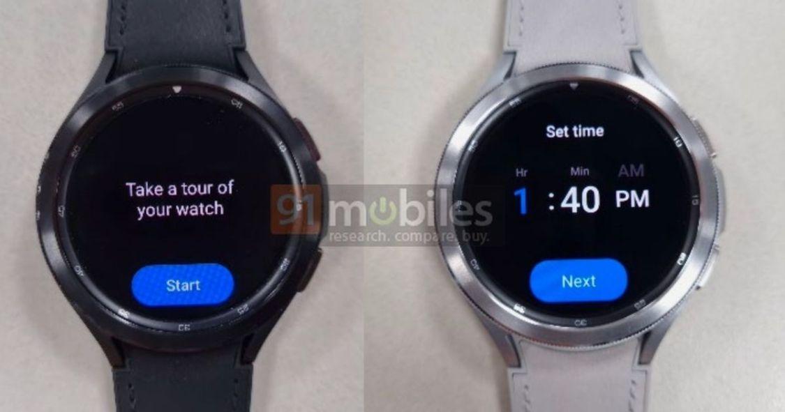 I Samsung Galaxy Watch 4 sägs du kunna välja mellan Google Assistent eller Bixby