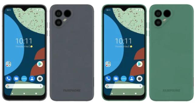 Fairphone 4 ser ut att visas upp 30 september