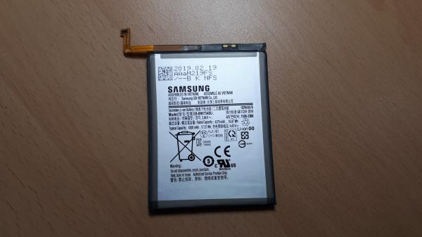 Ez lehet a Note10 Pro akkumulátora