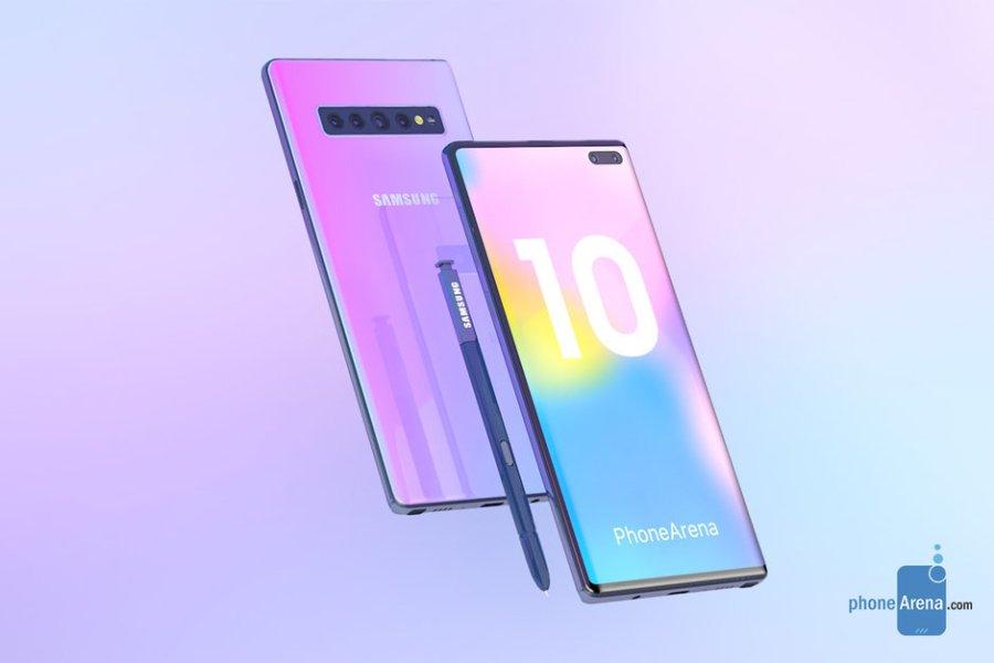 Így nézhet ki az egyik Galaxy Note10