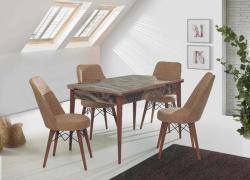 Masa cu 6 scaune