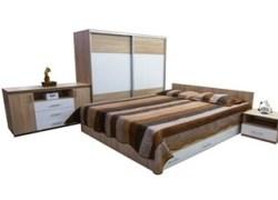 Dormitor VITA sonoma+alb