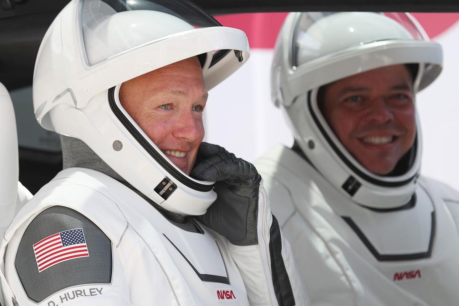 Deux astronautes américains en route pour la Terre à bord de la capsule SpaceX