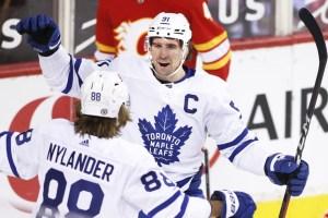 Les Maple Leafs ont raison des Flames4-2
