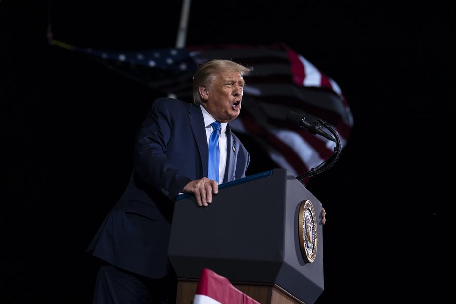 Donald Trump en campagne en Floride, Géorgie et Virginie