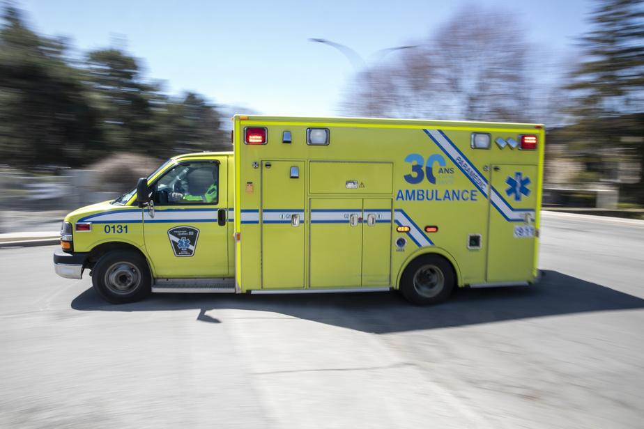 Un motocycliste hors de danger après un accident à Montréal