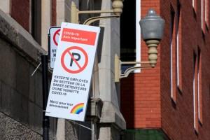 Centre-ville de Montréal   Une application plutôt que des nouveaux stationnements