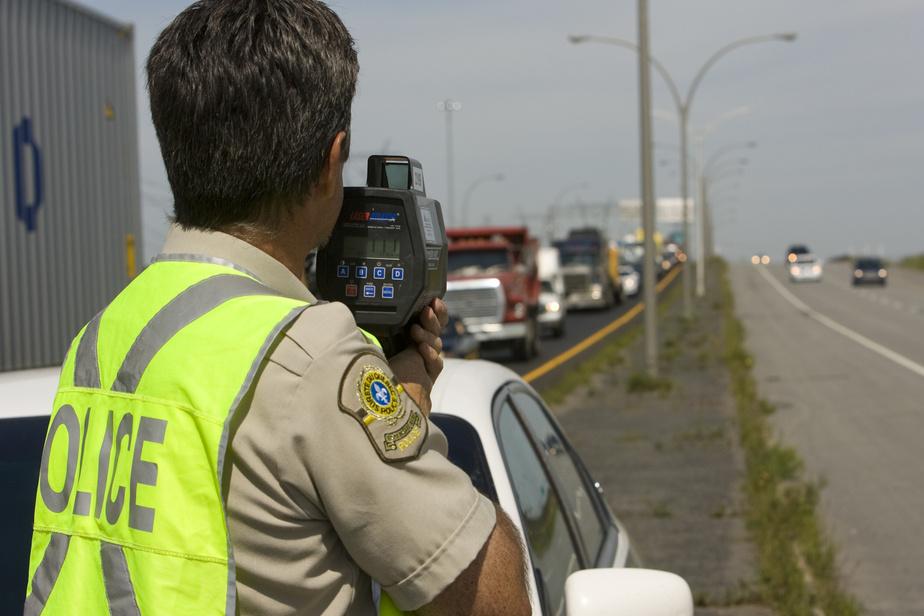 Opération contre les excès de vitesse et l'imprudence au volant partout au Québec