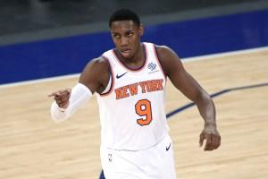 Le Canadien RJ Barrett brille dans une autre victoire des Knicks