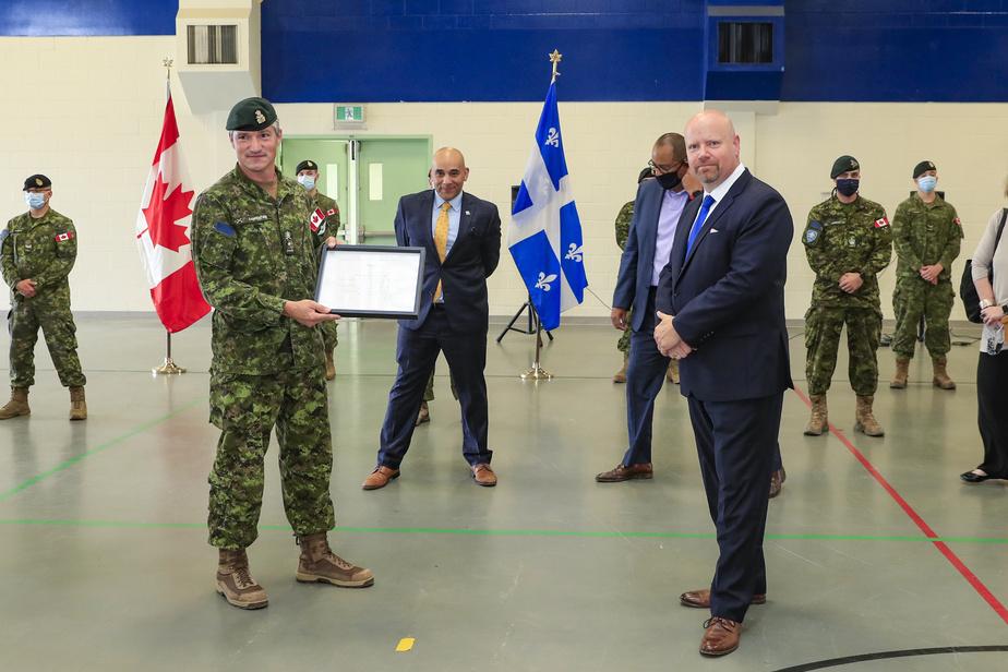 Militaires en CHSLD: «Au nom de tous les citoyens du Québec, on vous dit merci! »