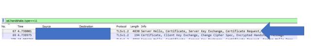 SSL Handshake Type 11
