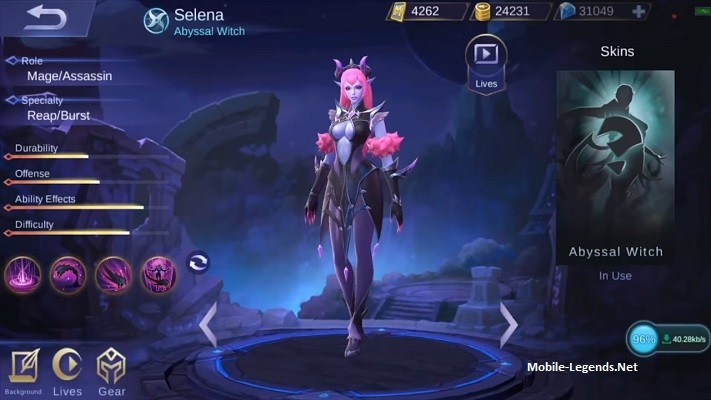 Selena Features 2018 Mobile Legends