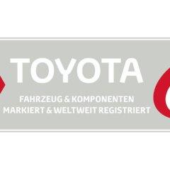 Auf der sicheren Seite mit neuem Toyota DNA-Diebstahlschutz