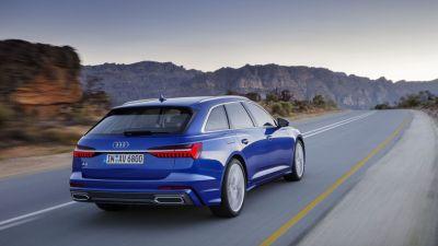 Audi A6 Avant Heck