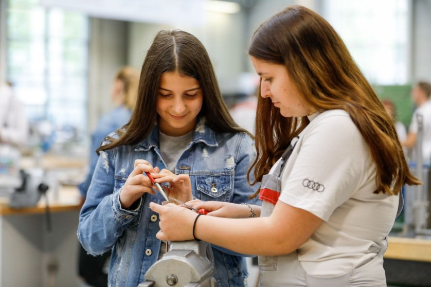 Girls' Day bei Audi