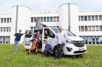 Buntspecht on tour mit dem neuen Opel Vivaro Tourer