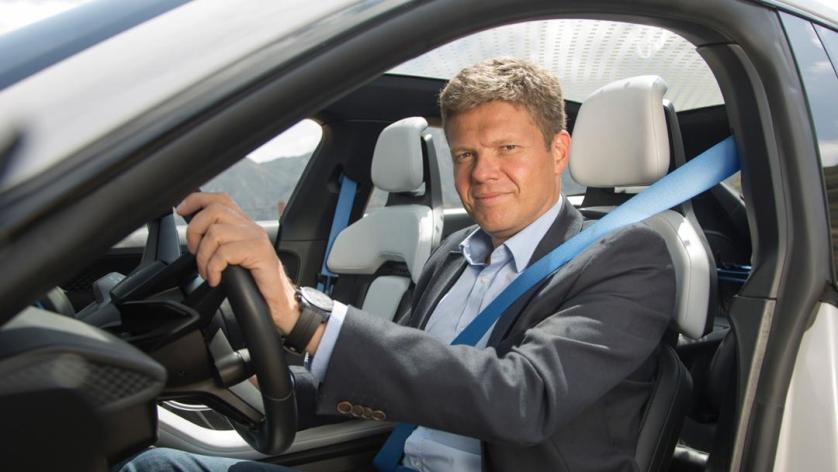 Stefan Weckbach, Leiter Baureihe BEV, Mission E Cross Turismo, Kalifornien, 2018, Porsche AG
