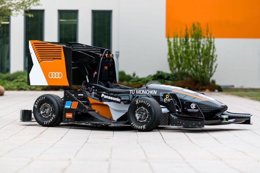 Audi bei der Formula Student Germany: Im Renntempo in Richtung Zukunft