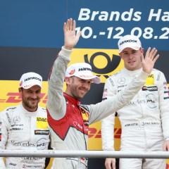 René Rast holt weiteres DTM-Podium für Audi
