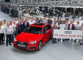 Silbernes Jubiläum: Audi A4 feiert 25. Geburtstag