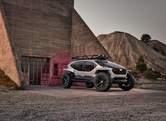Offroader auf Zukunftskurs – der Audi AI:TRAIL quattro