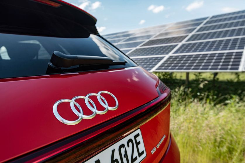 Audi und EnBW
