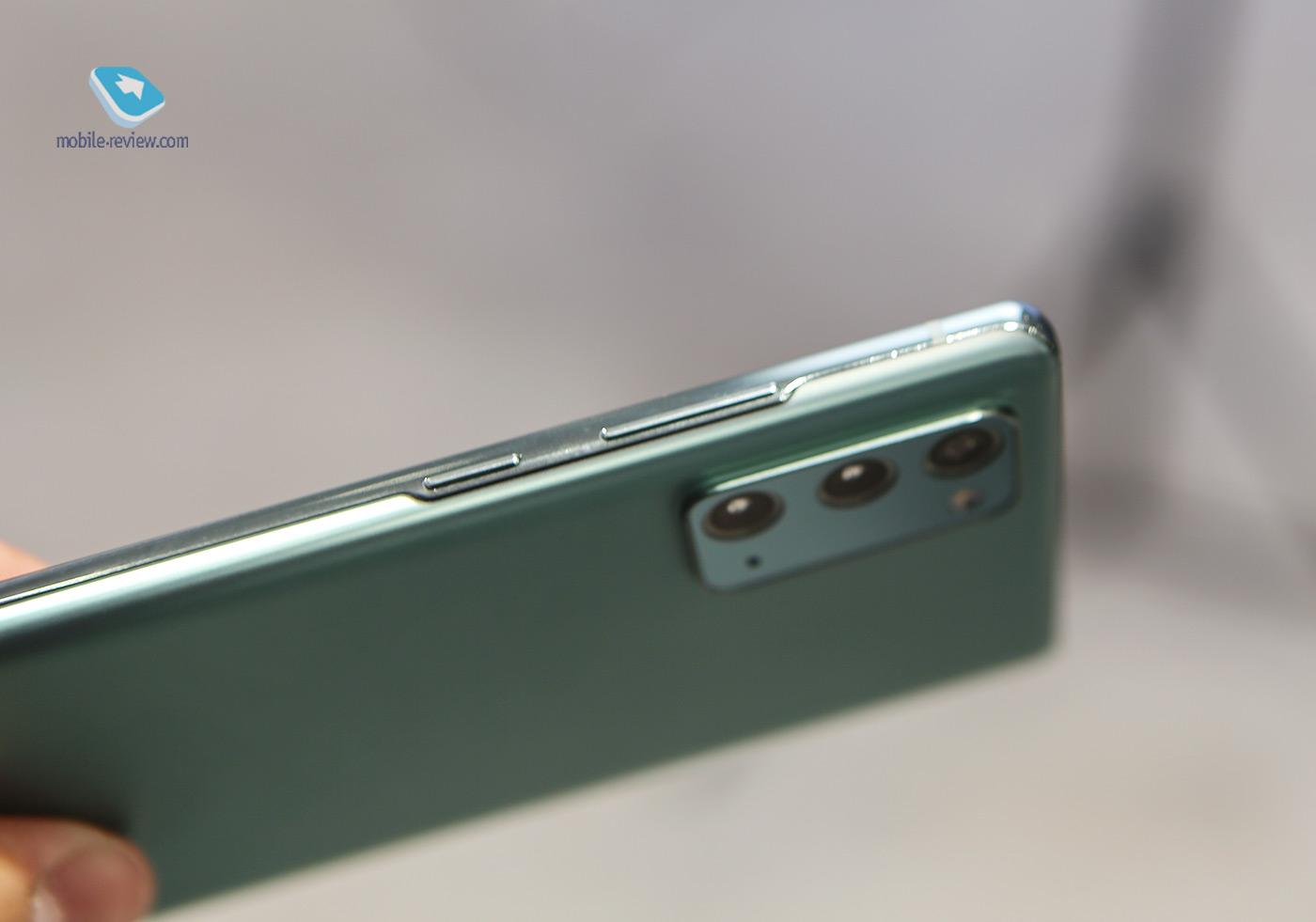 Первый взгляд на Samsung Galaxy Note20