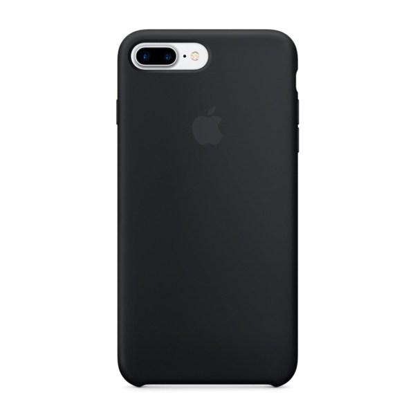 Silicon Case для iPhone 7 черный