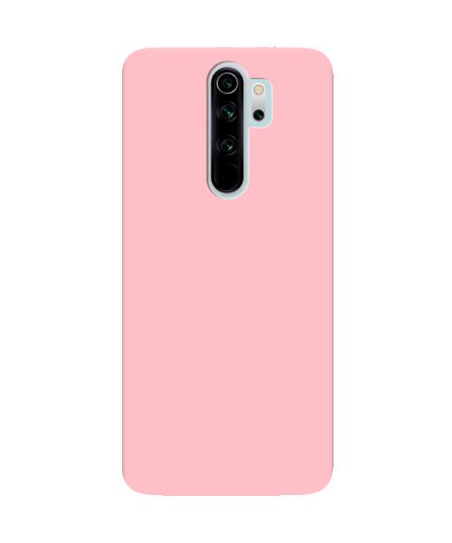 Чехол силиконовый для Xiaomi Redmi Note 8 Pro Розовый