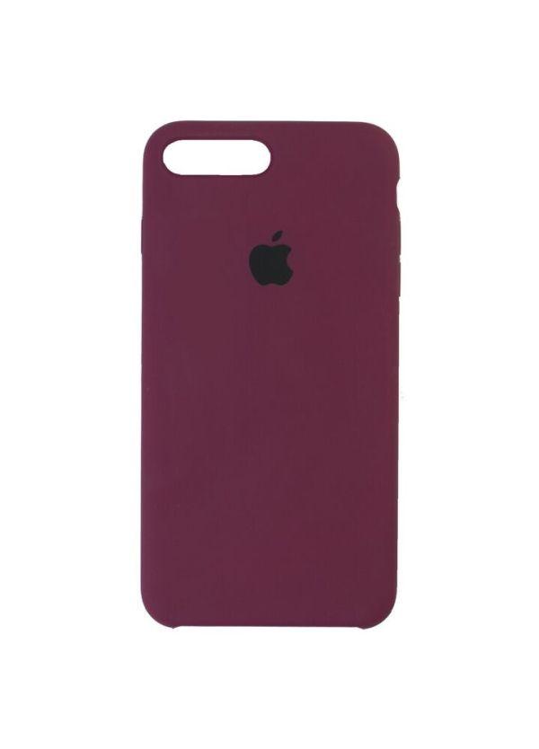 Silicon Case для iPhone 7 марсала