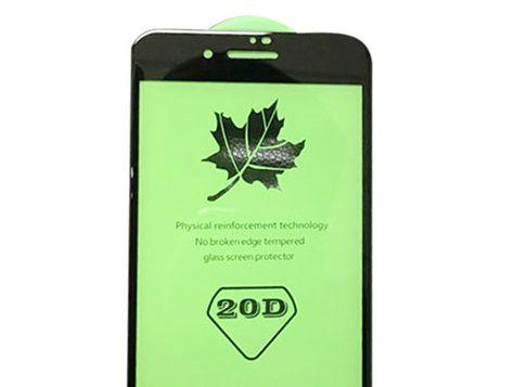 Защитное стекло 20D iPhone 7 черное