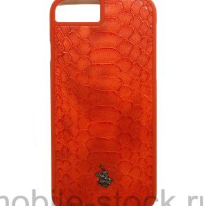 Чехол пластиковый с логотипом POLO для iPhone 7 | iPhone 8