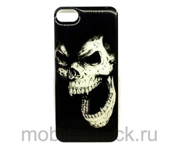 """Чехол виниловый """"Череп"""" для iPhone 7   iPhone 8"""