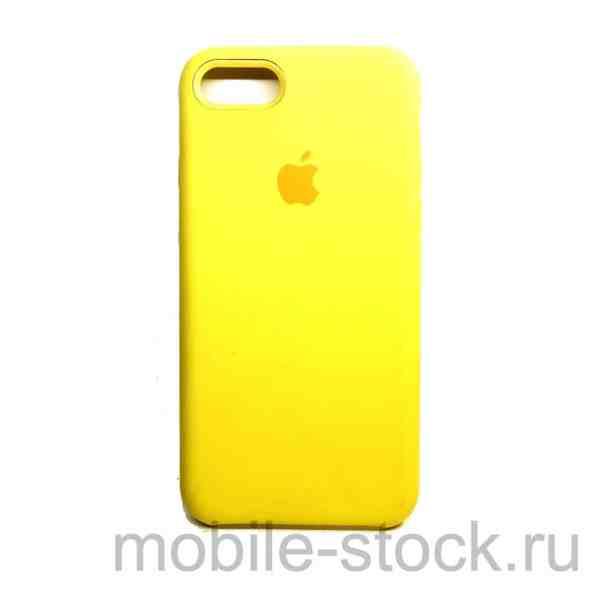 Чехол Soft touch жёлтый для iPhone 7 | iPhone 8