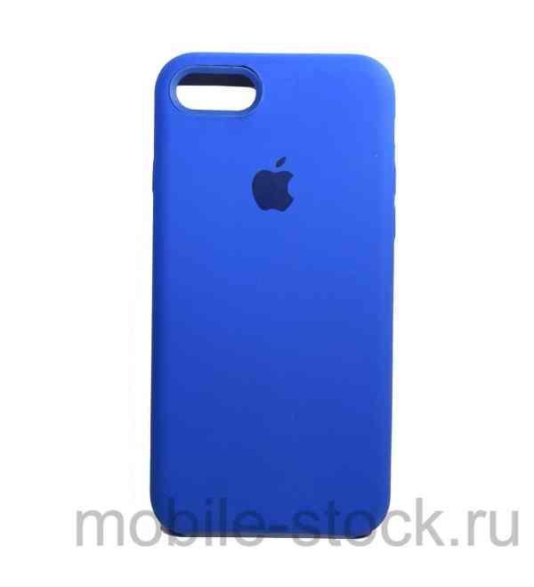 Чехол Soft Touch синий для iPhone 7 | iPhone 8