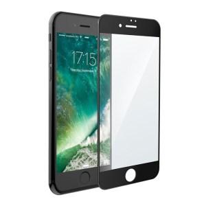 Защитное стекло 5D Full Glue premium для iPhone 7 | iPhone 8 черное