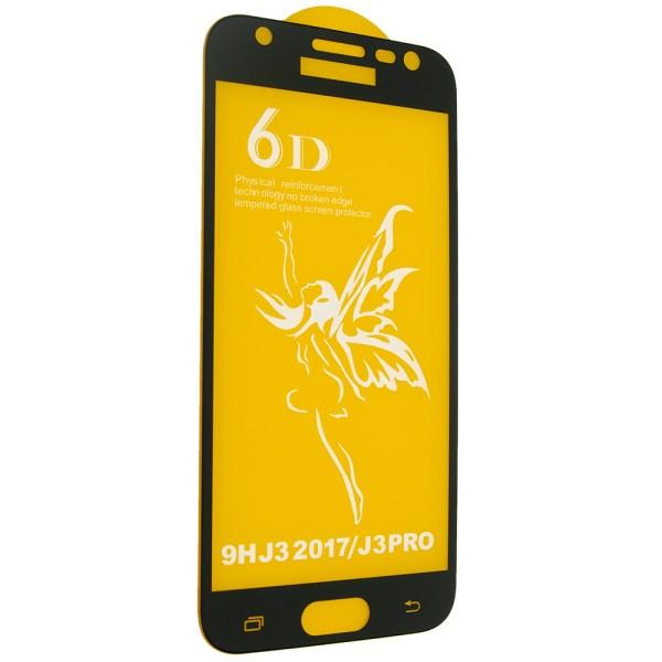 6D Full Glue для Samsung Galaxy J3 2017 черное