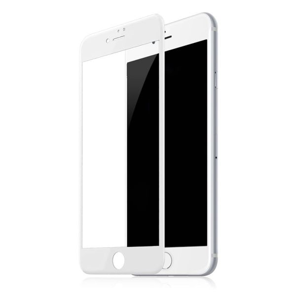Защитное стекло 5D Full Glue для iPhone 7 Plus | iPhone 8 Plus белое