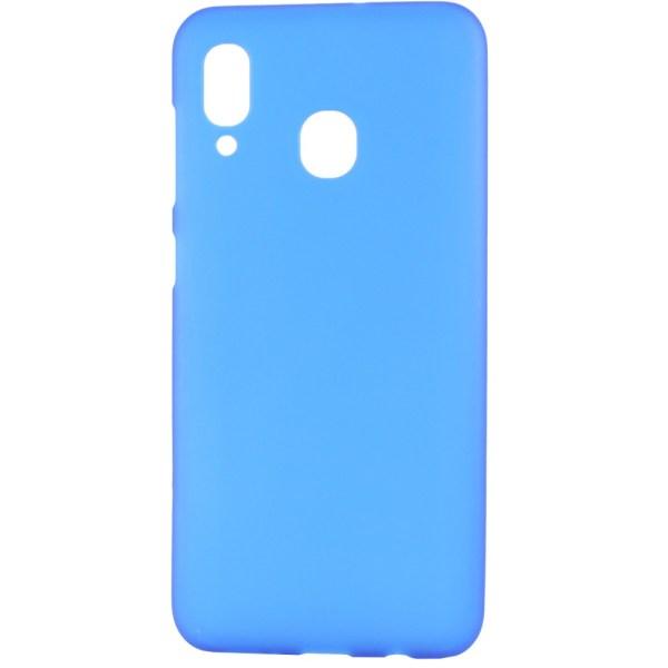 Чехол Soft Touch для Samsung Galaxy A20 | A30 голубой