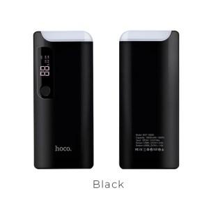 Портативный аккумулятор HOCO B27 15000 мАч черный