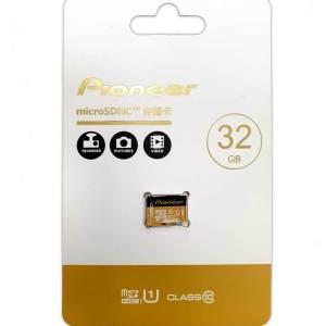 Карта памяти Pioneer Micro-SD 32Gb Class 10