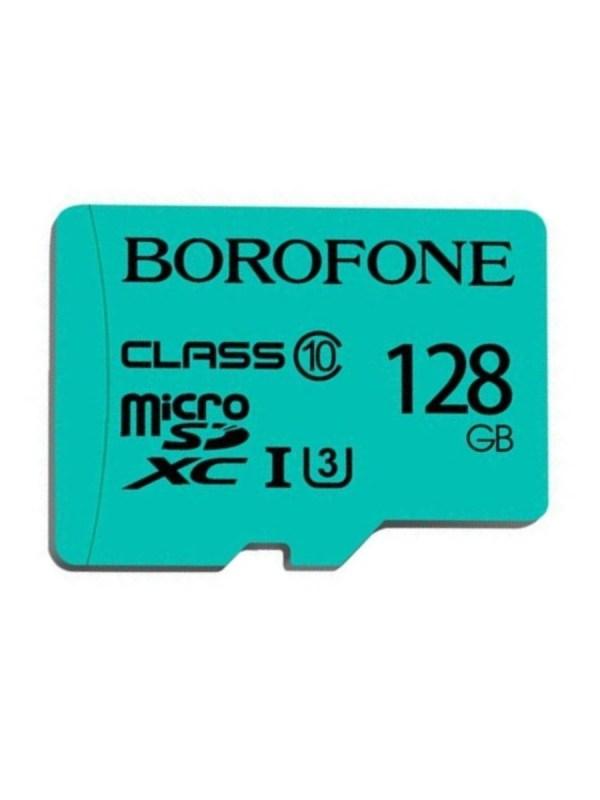Карта памяти Borofone Micro-SD 128Gb Class 10