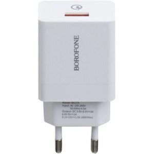 Сетевое зарядное устройство Borofone BA17A 18W Quick Charge
