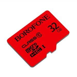 Карта памяти Borofone Micro-SD 32Gb Class 10