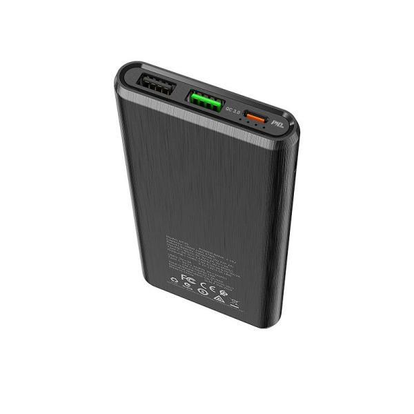 Портативный аккумулятор BT30 Dynamic PD+QC3.0 10000мАч черный